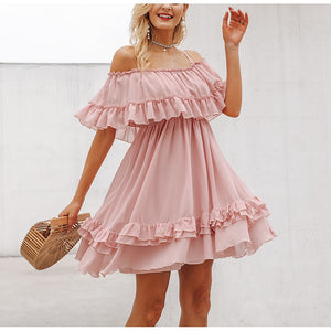 Open image in slideshow, Lydia Ruffle Dress