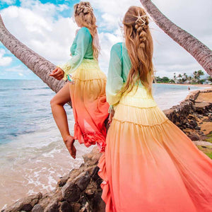 Ophelia Rainbow Dress