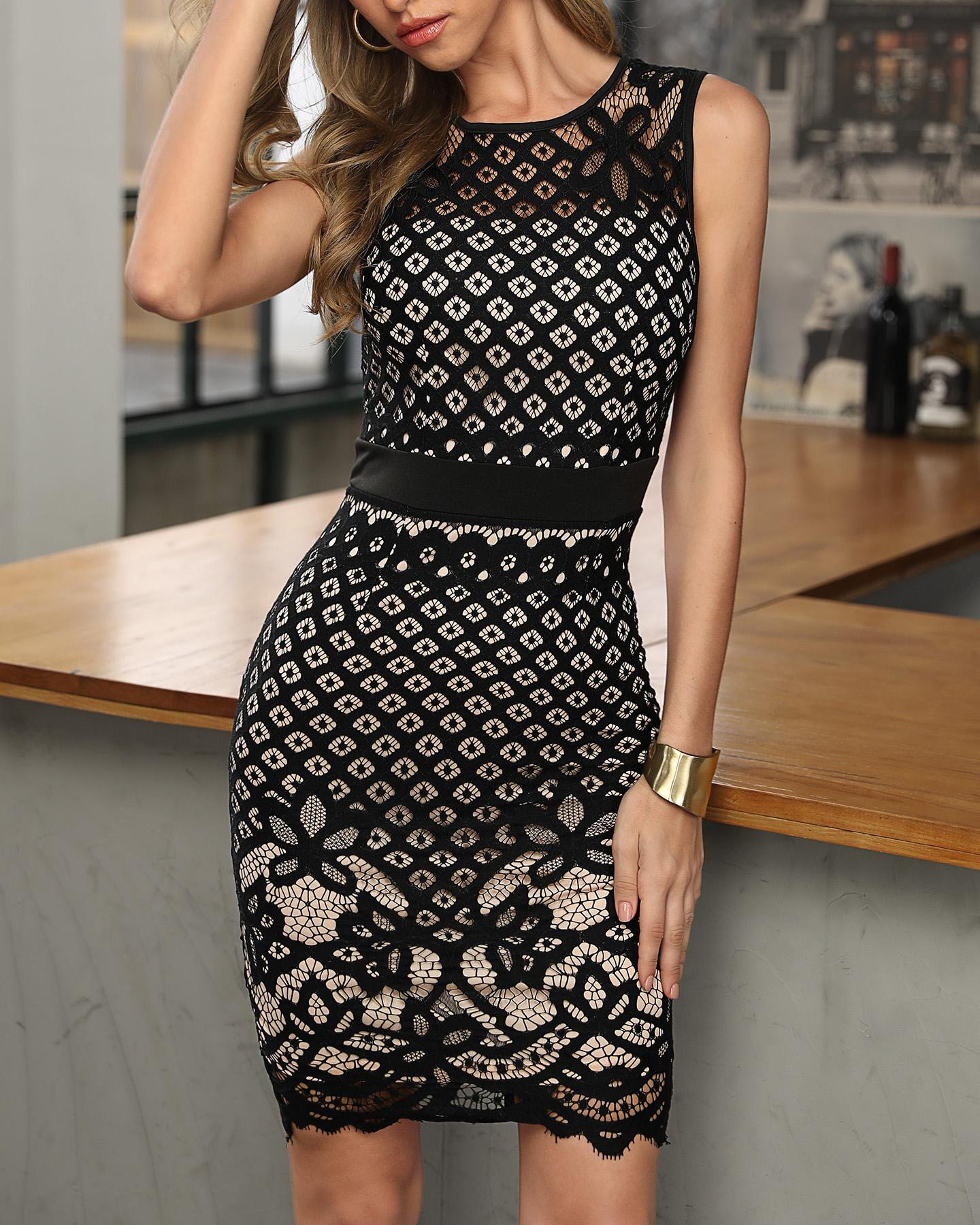 Demelza Lace Dress
