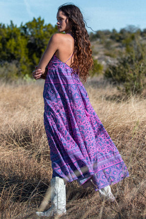 Open image in slideshow, purple sundress