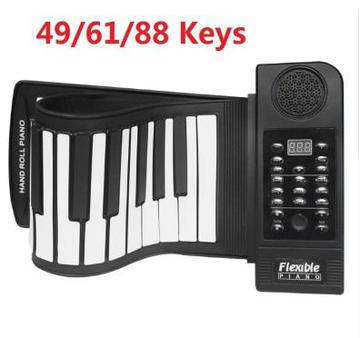 Portable 49/61/88 Keys Piano Folding Keyboard