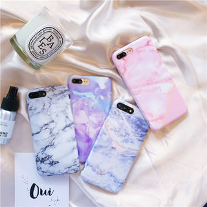 ROSE PINK MARBLE CASE - Cases by Klein