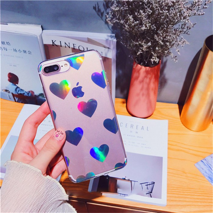 HOLO HEART CASE - Cases by Klein