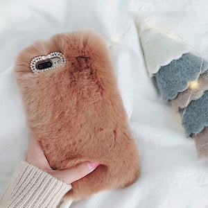 BROWN FUR CASE - Cases by Klein