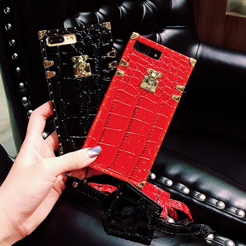 LUXURY CROCO CASE - Cases by Klein