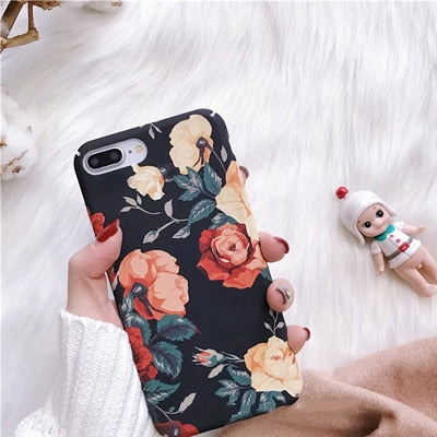 ROSE FLORAL CASE - Cases by Klein