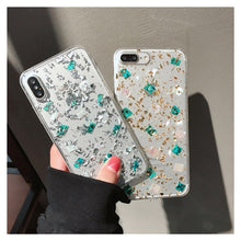 Load image into Gallery viewer, TEAL CRYSTAL CLEAR CASE - Cases by Klein