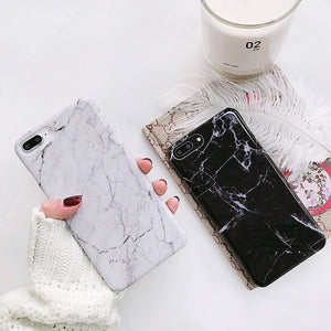 CLASSIC WHITE MARBLE CASE - Cases by Klein