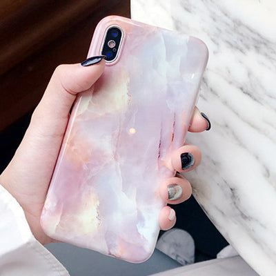 PINK PASTEL MARBLE CASE - Cases by Klein