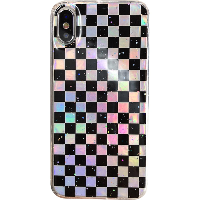 HOLO CHECKERED CASE - Cases by Klein