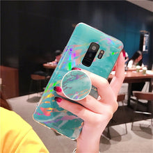 Load image into Gallery viewer, HOLO MARBLE SAMSUNG CASE - Cases by Klein
