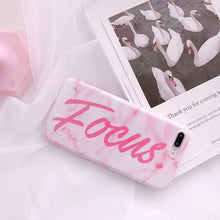 Load image into Gallery viewer, FOCUS PINK MARBLE CASE - Cases by Klein