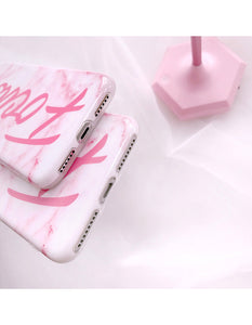 FOCUS PINK MARBLE CASE - Cases by Klein