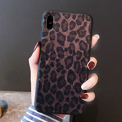 BROWN LEOPARD CASE - Cases by Klein