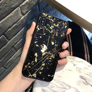 MARBLE FLAKE GOLD CASE - Cases by Klein