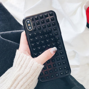 SQUARE STUDDED CASE - Cases by Klein