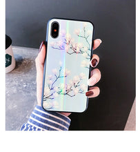 Load image into Gallery viewer, BLUE HOLO FLORAL CASE - Cases by Klein