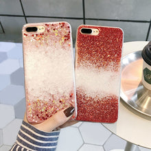 Load image into Gallery viewer, SNOWFLAKE GLITTER CASE - Cases by Klein