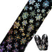 100x4 cm Nail Folies Laser Glitter Kerst Sneeuw Bloem Schoonheid Sticker Nail Art Transfer Folies Nail Beauty Tips STZXK79   Full Beauty
