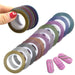 12 stks/partij 1mm 12 Kleuren Glitter Nail Striping Tape Line Voor Nagels DIY Decoratie Nail Art Stickers Beauty Accessoires BENC392   Ur Beautiful