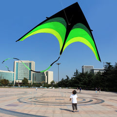 160 cm Super Enorme Kite Lijn Stunt Vliegers Kite Outdoor Fun Sport Educatief Speelgoed Verjaardagscadeautjes Kinderen Vliegers Speelgoed voor kinderen