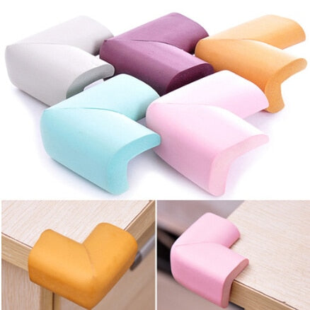 4 Stks/partij Soft Baby Safe Corner Protector Baby Kids Table Desk Corner Guard Kinderen Veiligheid Edge Guards55*40*50mm