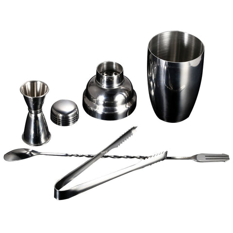 Cocktail Shaker Set van RVS 4-Delige Set