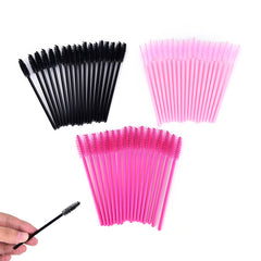 50 StksKoop Applicator Spoolers Make Borstel Tool Cosmetische Wimper Extension Wegwerp Mascara Wand