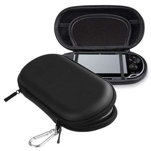 Zwart hard cover bag pouch travel carry shell case voor sony playstation PS Vita voor PSV 2000 Eva Cover voor Psvita Funda de Capa