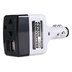 Auto Mobiele Converter Inverter Adapter DC 12 V/24 V naar AC 480 V Charger Power + USB Voertuig Auto Mobiele Converters Met USB Charger