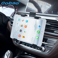 Cobao 360 Autohouder air vent mount Tablet Stand Auto outlet Tab standhouder Voor 7 inch tot 11 inches Tablet ipad Samaung Tablet
