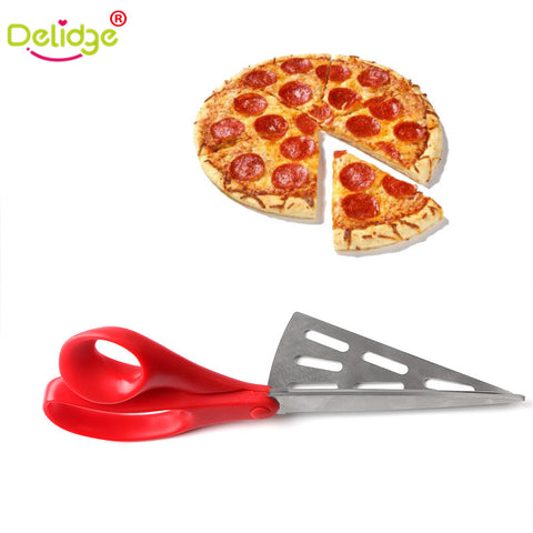 Pizza Schaar 2 in 1 met Pizzaschep