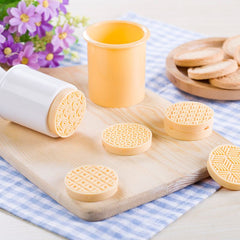 Drop Ship 6 stks Geluk Cloud Cookie Stempel Chocolade Biscuit Cutter Mold Homemade Pastry Gebruik