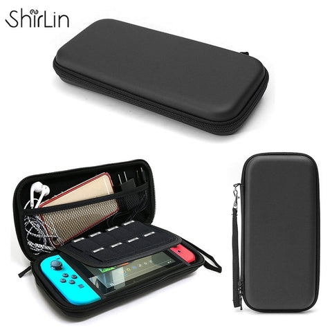 EVA Beschermende Hard Case Shell Travel Carrying Game Console Opbergtas Houder Pouch Voor Nintend Switch Console Met Draagriem   ShirLin