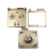 Goud Plastic Behuizing Shell Case Cover voor GBA SP Majora's Masker Limited Edition