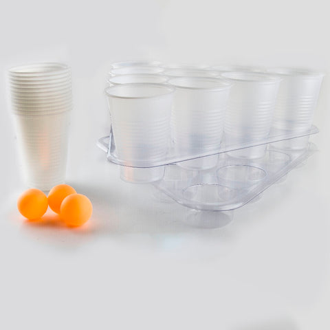 Beer Pong Set met Bekers en Balletjes
