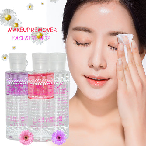 Professionele Makeup Remover Water Make Up Fixing Spray Gezicht Eye Lippen Make Reinigingsolie Demaquilante Gum Cleanser 100 ml   ibcccndc