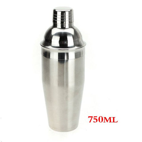 Rvs Cocktail Shaker Drink Mixer Bar Set Kit-750 ml   SSGP