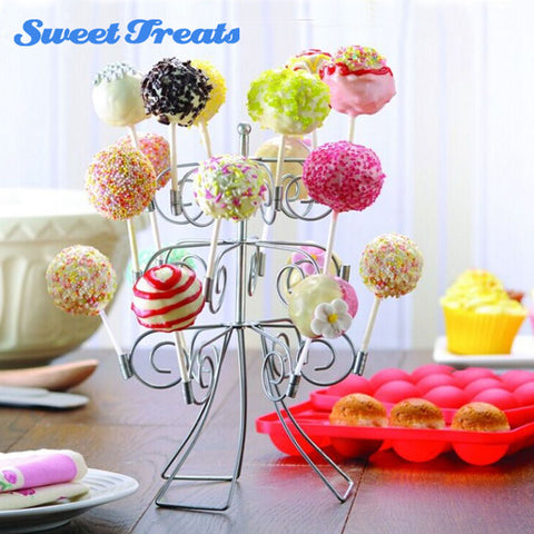 Sweettreats 3 Tier 18 Cake Pops Display Holder Lollipop Stand Base Party Bruiloft Decoratie Bakken T   sweettreats