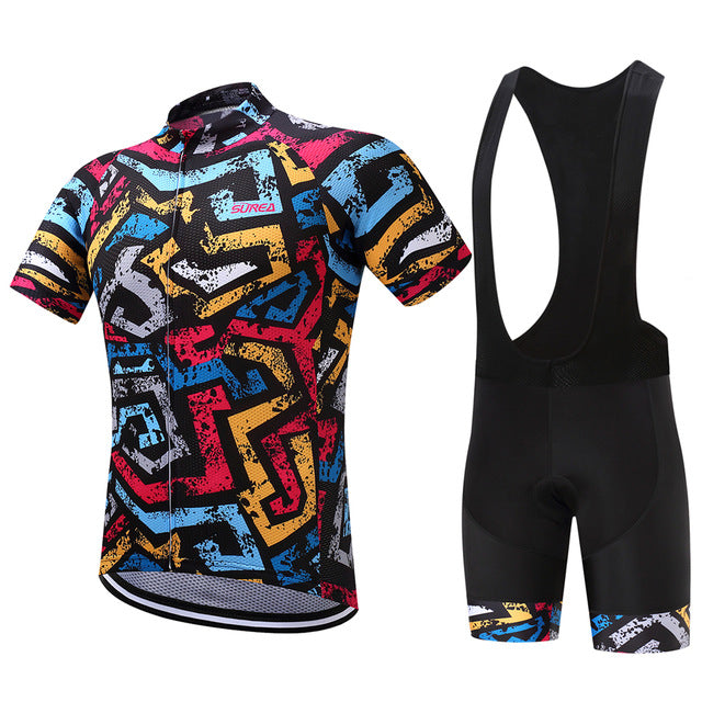 Color Maze - Men's Short Sleeve Jersey Set