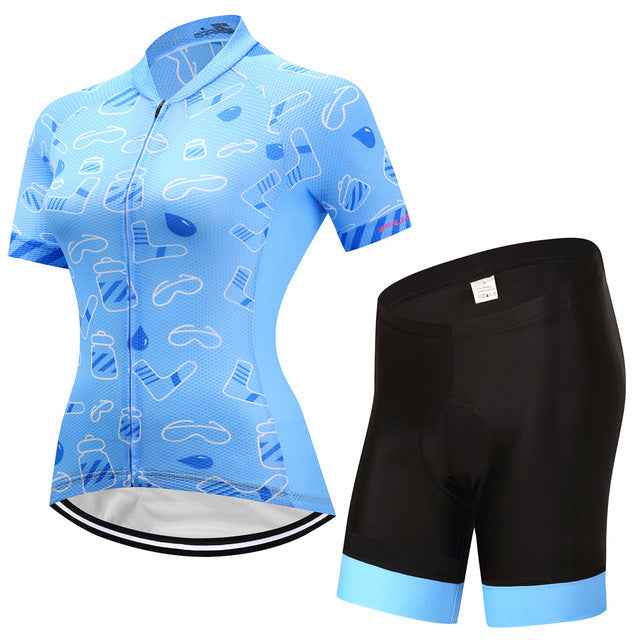 Sky - Women's Short Sleeve Jersey Set