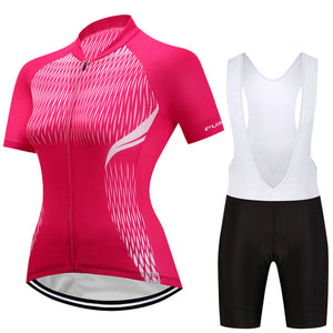 Feather - Women's Short Sleeve Jersey Set