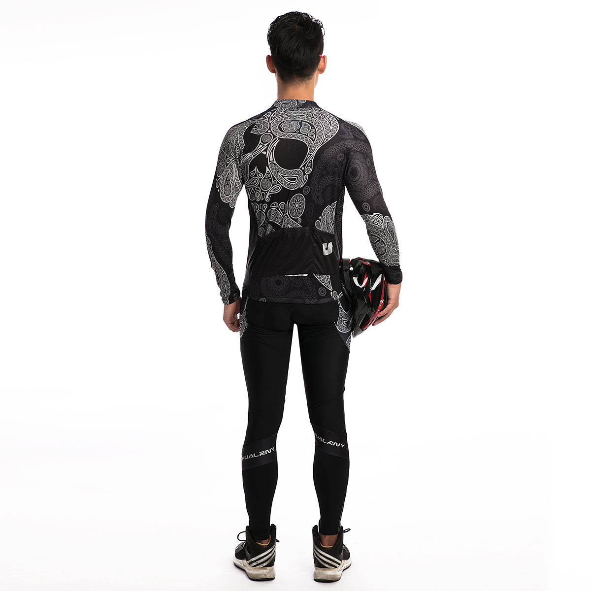 Cross Bones - Men's Thermal Jersey Set