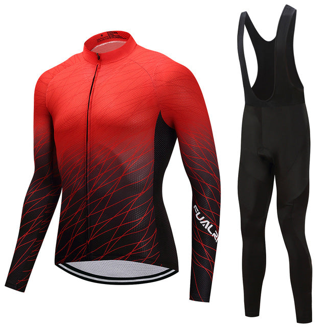 Red Dip - Men's Long Sleeve Jersey
