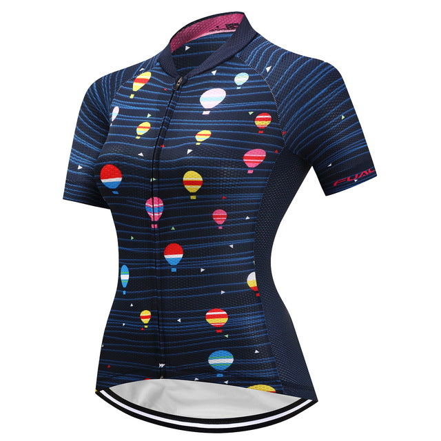 FUALRNY 2018 Breathable Cycling Jersey Women Summer Cycling Clothing