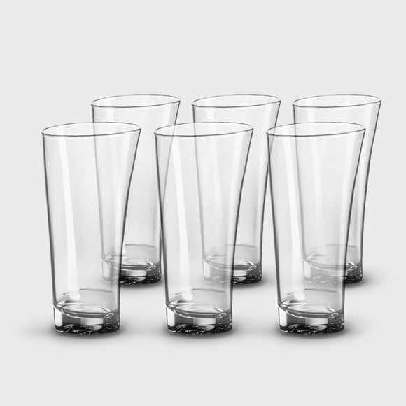 Unbreakable, Drinking Glasses, <br> set of 6, <br> 13 oz. each