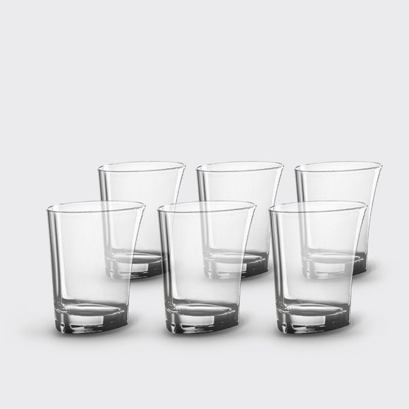 Whisky & Double Old-Fashioned Glasses, <br>set of 6, <br>12 oz. each
