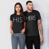 """His & Her"" Matching T-shirts"