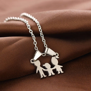 Family (1 child) Love Necklaces