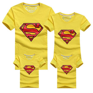 Colourful Super Family T-Shirts